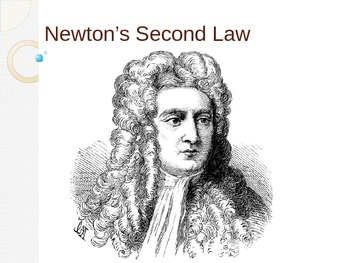 Newton's Second Law of Motion Power Point presentation by