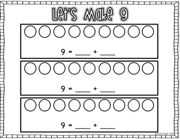 Nifty Numbers {Common Core Activities for Numbers 1-20} by