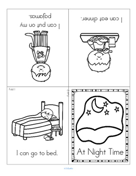 Day and Night Center and Printables for Preschool PreK and Kindergarten