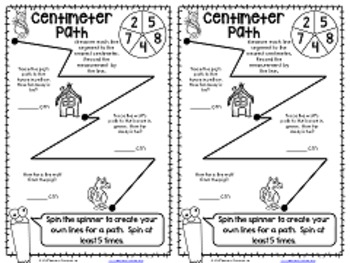 No-Cut Interactive Notebook {Math}: Measurement Edition by
