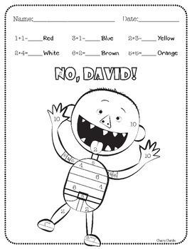 photo regarding No David Printable named √ David Goes Towards College Coloring Sheet David Goes in direction of