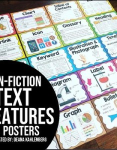 also non fiction text features posters by primary punch tpt rh teacherspayteachers