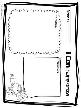Nonficiton Graphic Organizers Mini set by Anchored in