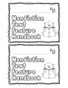 Nonfiction Text Feature Book Literacy.RI.2.5, Literacy.RI