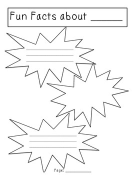 Nonfiction Writing Paper Choices Packet by Friends in