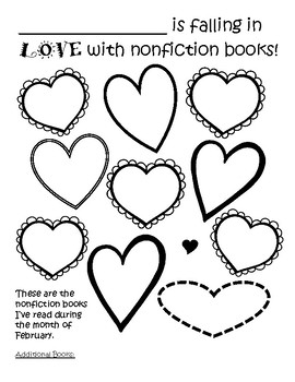 Nonfiction and Fiction Graphic Organizers to Fall In Love
