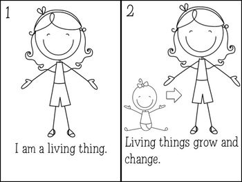 Nonliving and Living Things: A Science Lesson by Leslie