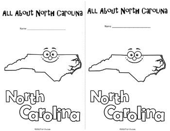 North Carolina Webquest Common Core Research Mini Book by