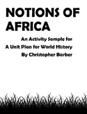 African History Teaching Resources & Lesson Plans