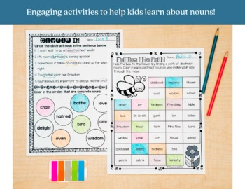 Nouns Printables and Interactive Notebook Templates by
