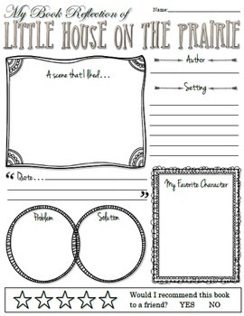 Novel Study: Little House on the Prairie by Laura Ingalls