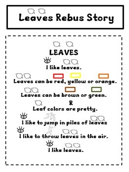 Kindergarten / First Thanksgiving and November REBUS by A