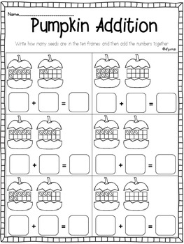 November in a Snap: No Prep Printables for Math and