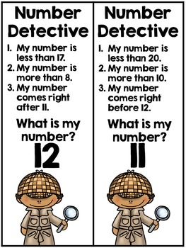 Number Detective : number, detective, Number, Detective, Recipe, Teaching, Teachers