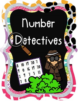 Number Detectives {Practice Pages for Numbers 1-20} | Teaching...