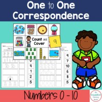 Number Match / One to One Correspondence Printable