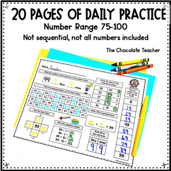 Daily Math CCSS Aligned Place Value Number Sense