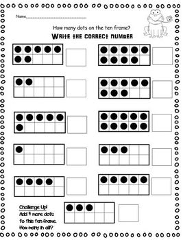 Number Talks: All about numbers 1-10 and 1-20 (Common Core