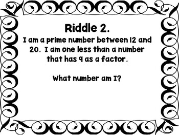 Number Theory: Prime, Composite, Factors, Even, Odd