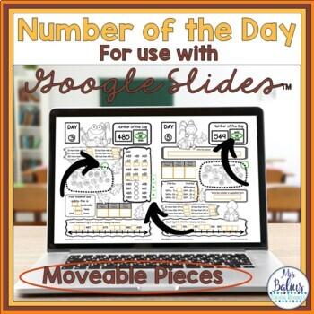 Number Sense Morning Work Grade Math Place Value Number of