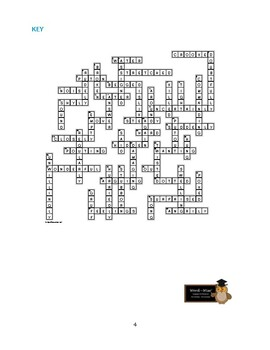 Number the Stars: 50-Word Prereading Crossword—Great Warm