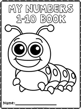 Numbers 1-10: Worksheets and Number Posters by My Little