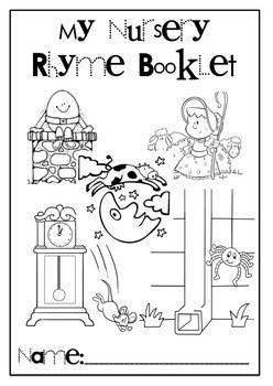 Nursery Rhyme Cloze Compreh... by Paint the Rainbow
