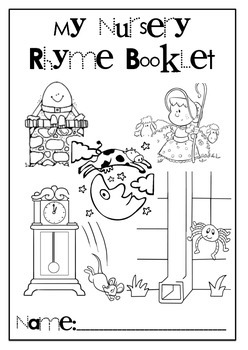 Nursery Rhyme Cloze Comprehension Activity Booklet by
