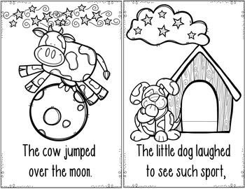 Nursery Rhymes #2 (Pocket Chart and Book Making Activity