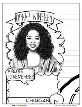 OPRAH WINFREY, WOMEN'S HISTORY, BIOGRAPHY, TIMELINE