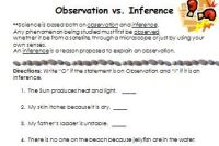 Observation versus Inference - what's the difference? by ...