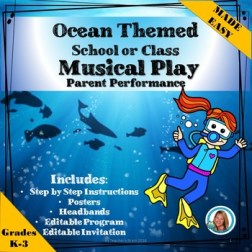 Play Parent Performance - Musical - Ocean Themed