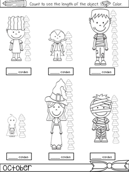 October Packet {First Grade Morning Work for ALL of