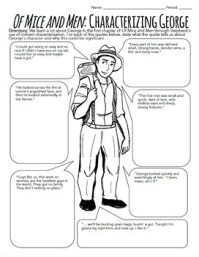 Of Mice and Men Characterization Activity