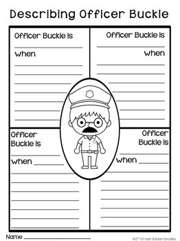 Officer Buckle and Gloria: A Book Study by 2nd Grade