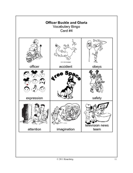 Officer Buckle and Gloria Activities and Test Practice by