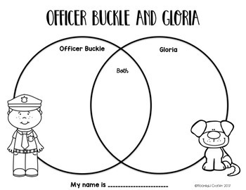 Officer Buckle and Gloria Book Companion by moonlight