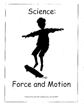 Ohio Science Grade 2 Forces & Motion Physical Science by