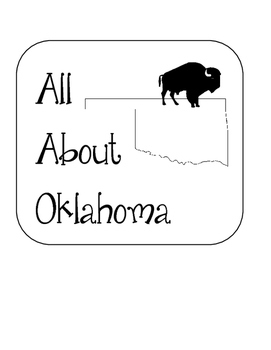 Oklahoma State Lapbook. Interactive Notebook. US History