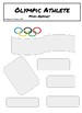 Olympics Mini Biography Poster Report by Garden of