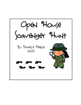 Open House: Student-Led Scavenger Hunt by Danielle Peeples