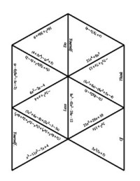 Operations with Polynomials Puzzle by Jennifer Merker | TpT