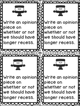 OREO Opinion Writing Graphic Organizer and Prompts by Dana