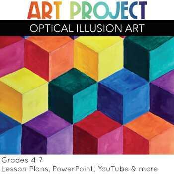 art project optical illusion