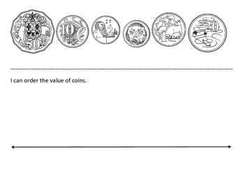 Ordering Australian Coins and Money Amounts by Mr