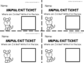 Ordinal Number Puzzles- Includes 5 Puzzles and Exit