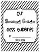 Our Second Grade Class Guidelines by Engaging Second Grade