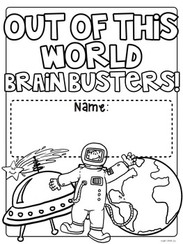 Out of This World Brain Busters: Math Puzzles for Grades 2