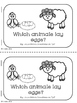 Oviparous Animals Printables--mini-book, sort, and
