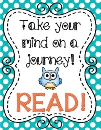 """""""Owl"""" Themed Reading Motivational Posters Classroom Decor ..."""